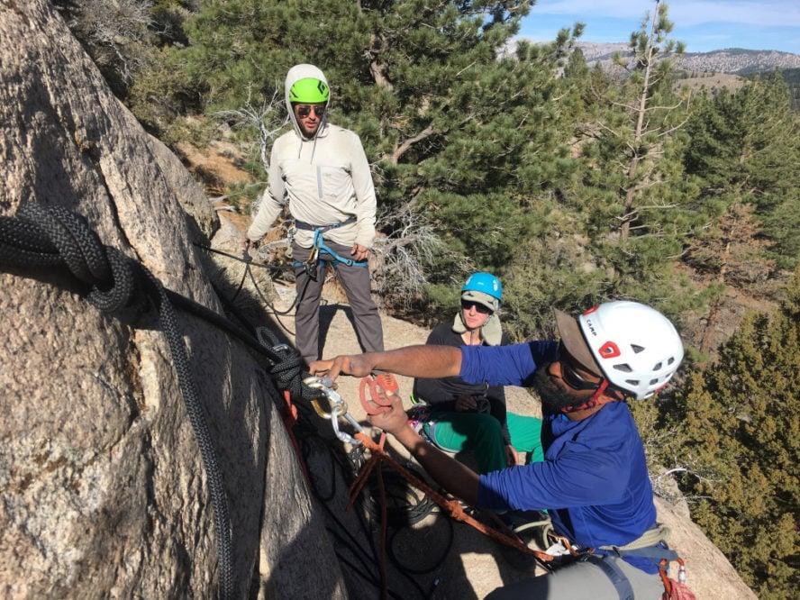 Mammoth Lakes rock climbing
