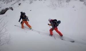 White Mountains backcountry skiing video
