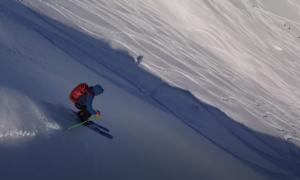 Yotei backcountry skiing video