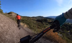 aspen mountain biking video