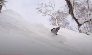 hokkaido backcountry skiing video