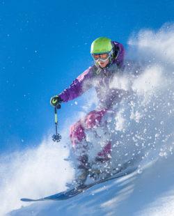 The White Mountains backcountry skiing