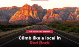 red rock climbing video