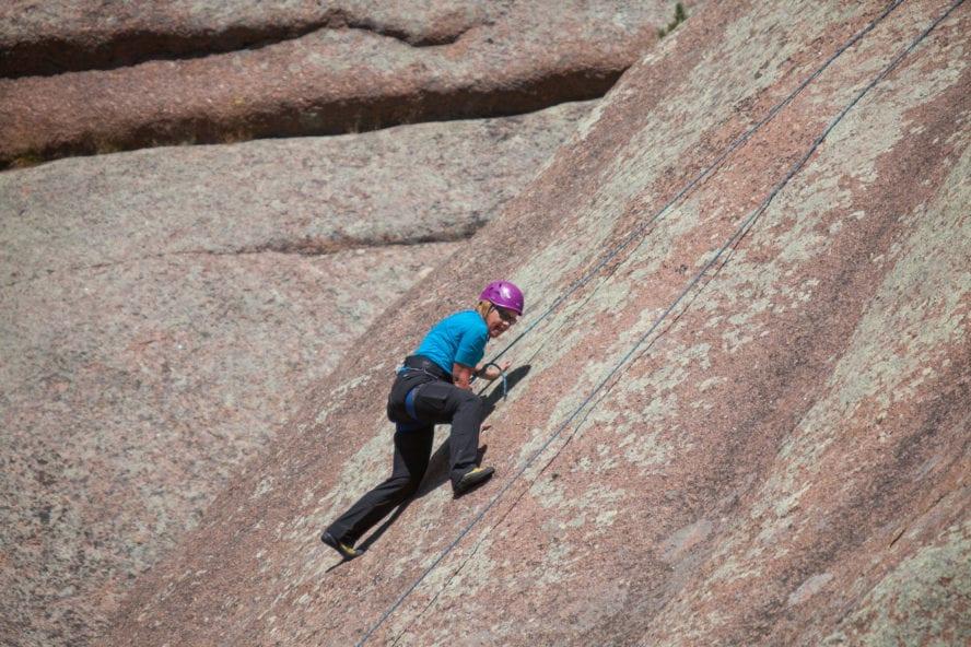 Vedauwoo Rock Climbing