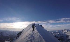 canadian rockies climbing video