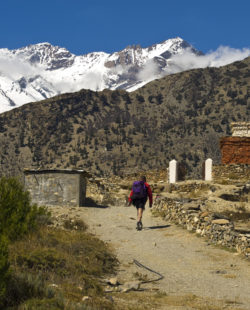 Nepal The Upper Mustang Hiking
