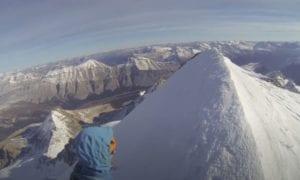 mt athabasca alpine climbing video