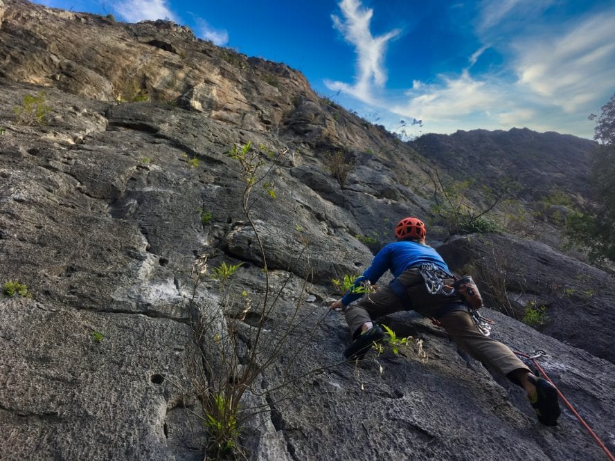 rock climbing el potrero chico