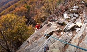 shawangunks rock climbing video
