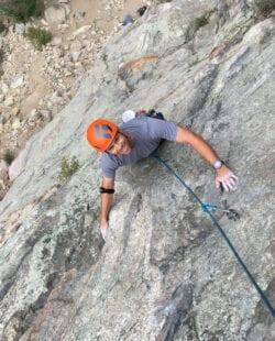 Rock Climbing in Clear Creek Canyon, Colorado