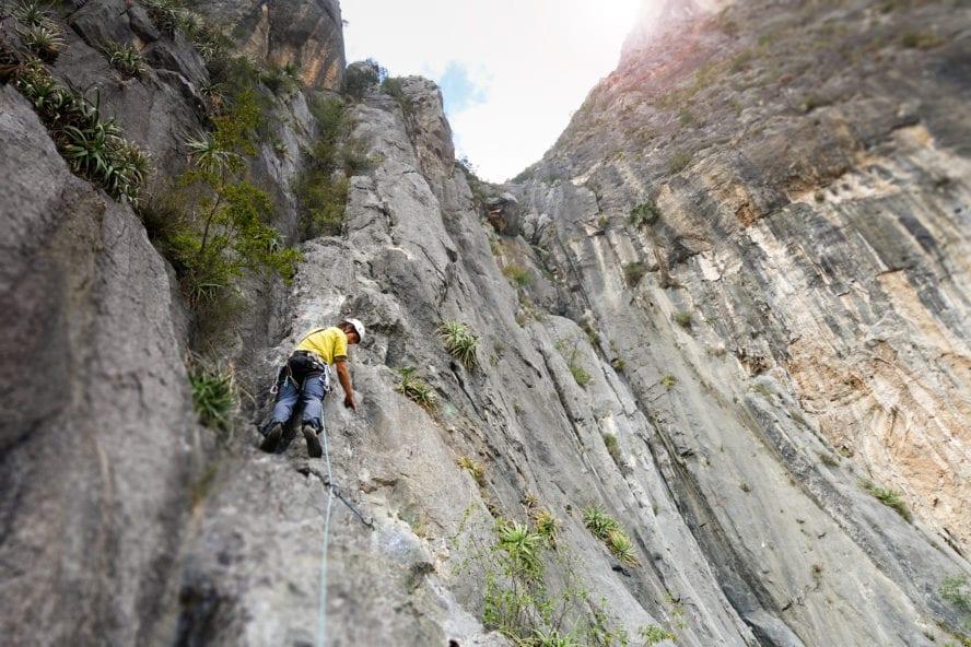 El Potrero Chico Rock Climbing