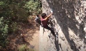 Jilotepec rock climbing video