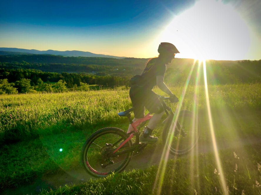 Vermont mountain biking