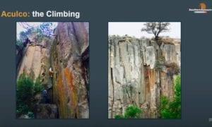 aculco rock climbing video