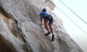 joshua tree rock climbing video
