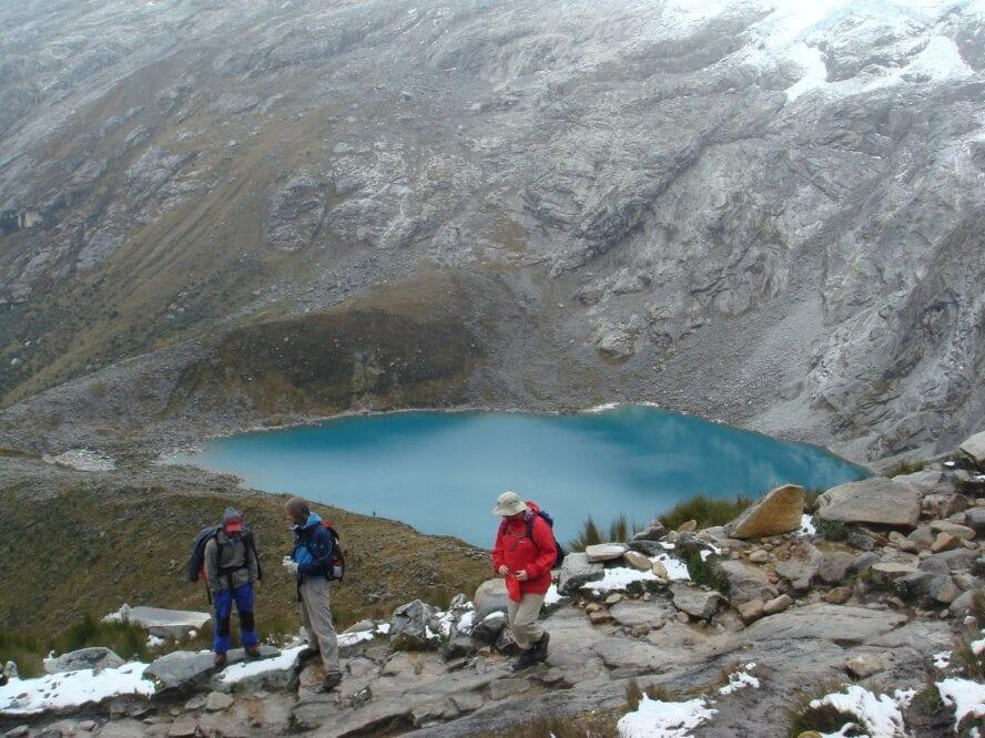 santa cruz trekking
