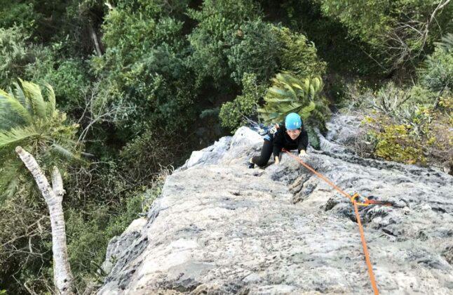 Rock Climbing the Kao Jin Lae, Lopburi, Thailand