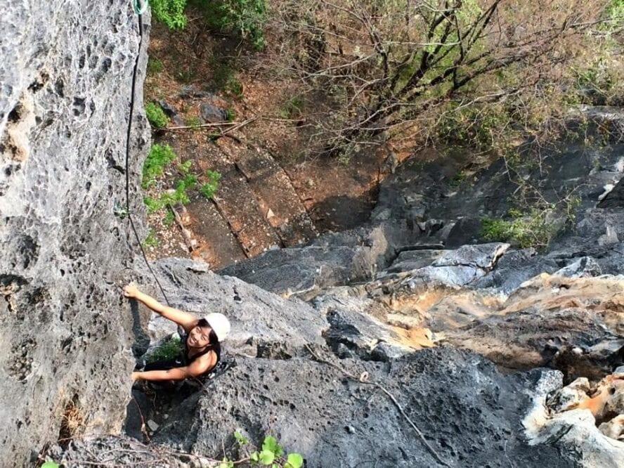 Climbing Thailand Crazy Horse Buttress
