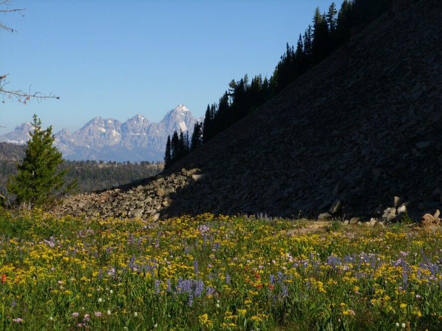 hiking grand teton