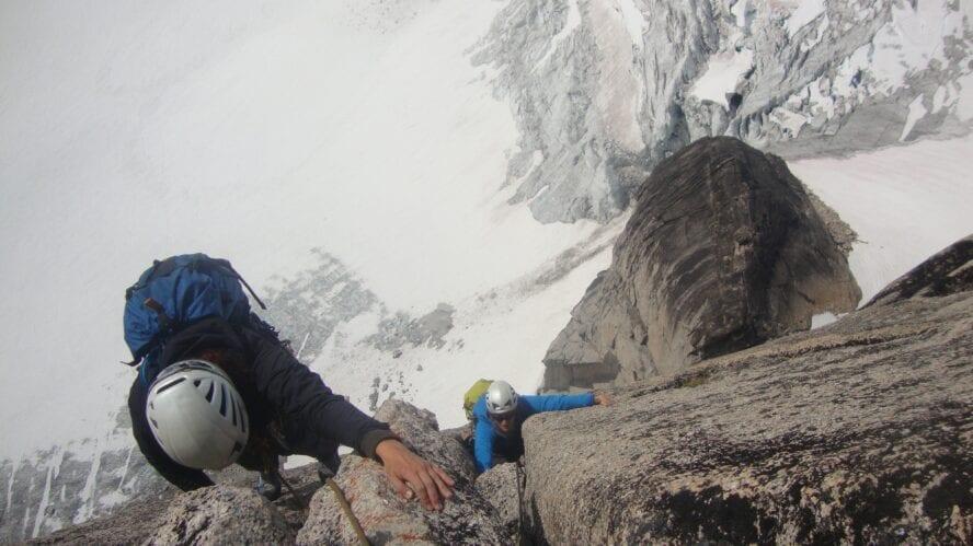Canadian Rockies rock climbing