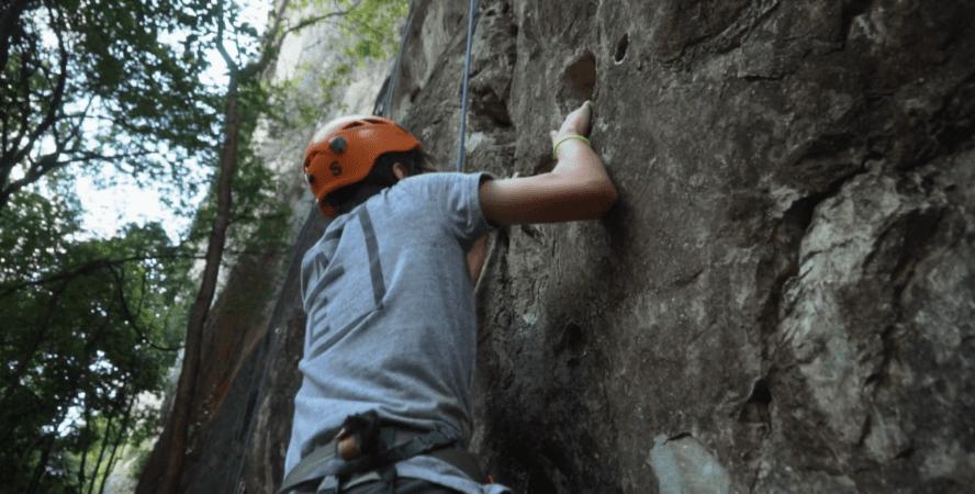 Thailand rock climbing video