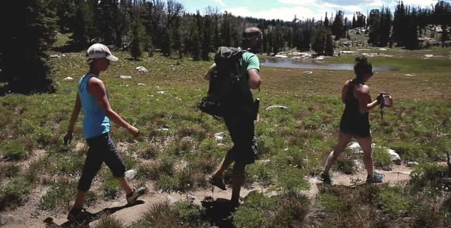 hiking grand teton video