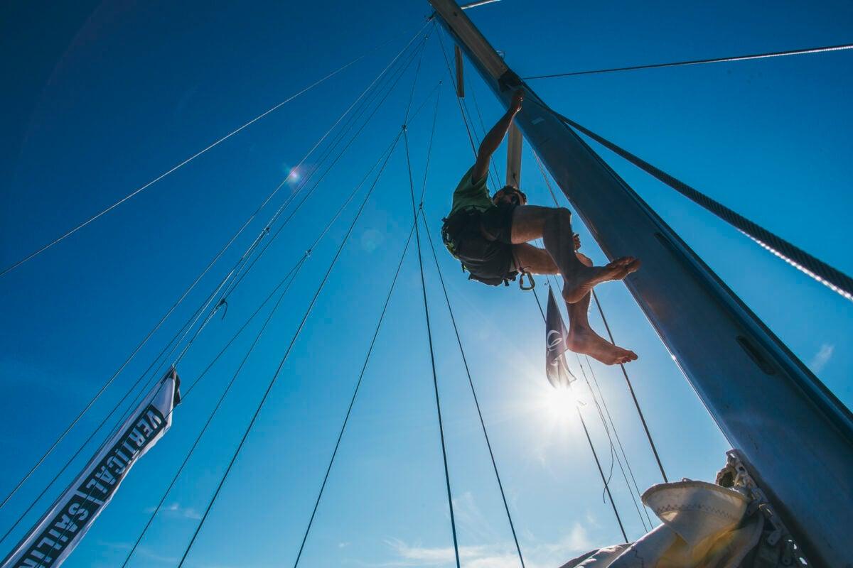 Rock climbing and sailing in Sardinia