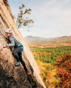 Rock Climbing in North Conway