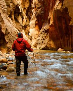 Hiking the Zion Canyon Narrows