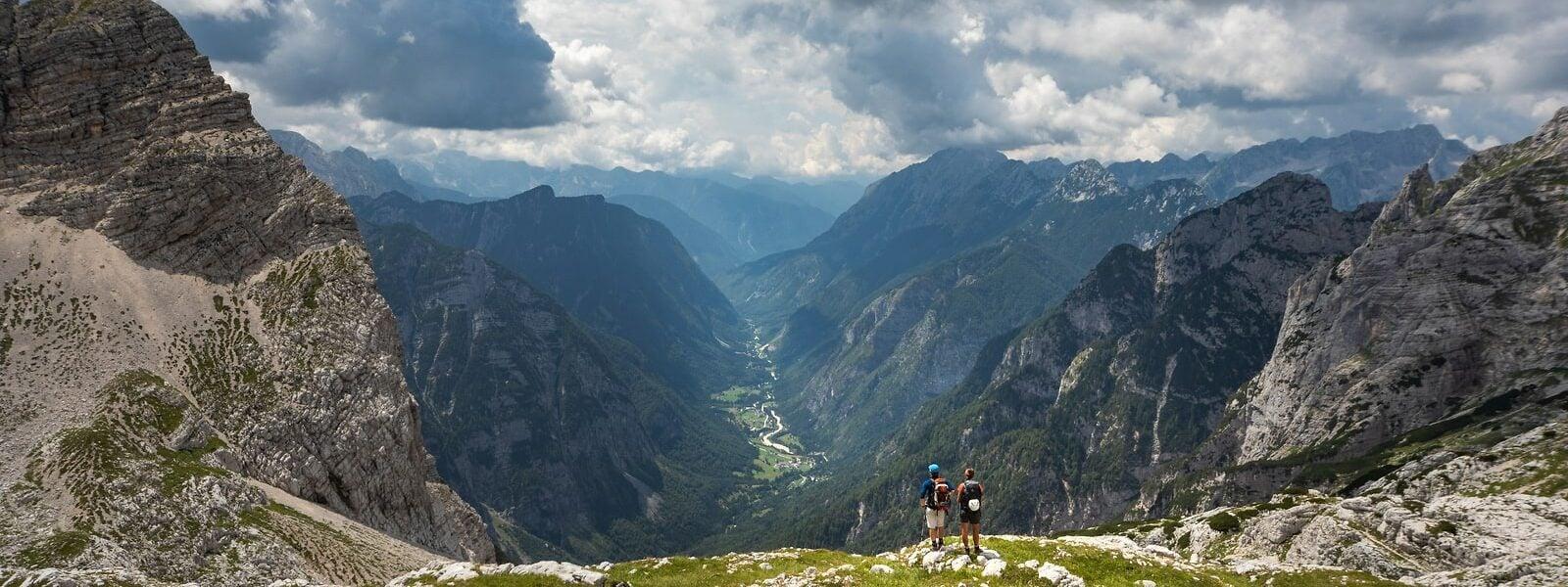 Hiking Alpe Adria Trail