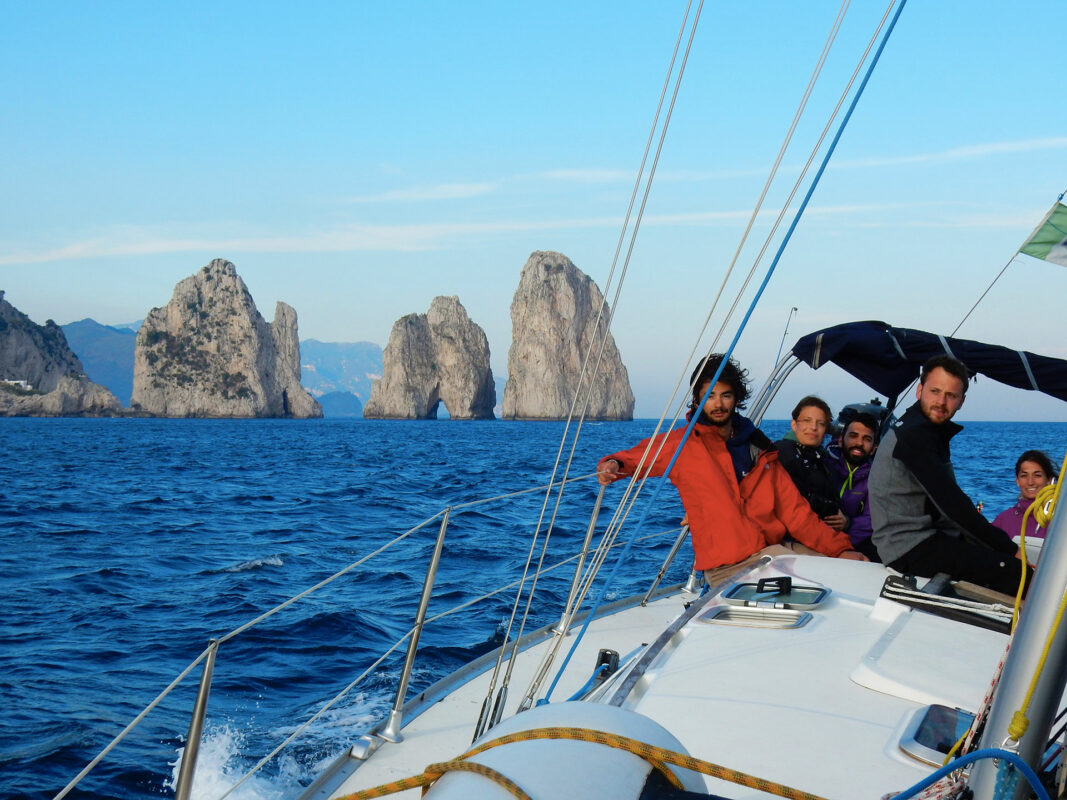 Amalfi Coast Rock Climbing and Sailing