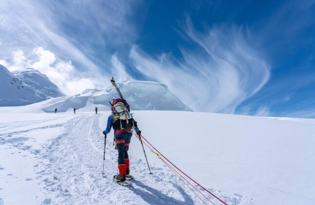 Climbing Denali