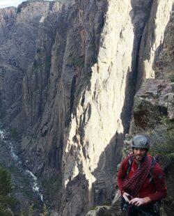 Rock Climbing at the Black Canyon
