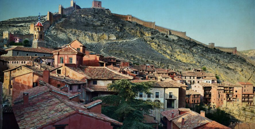 Albarracin rock climbing