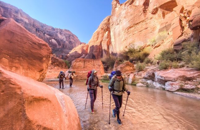 Why Choose An All-Female Backpacking Trip in Paria Canyon?