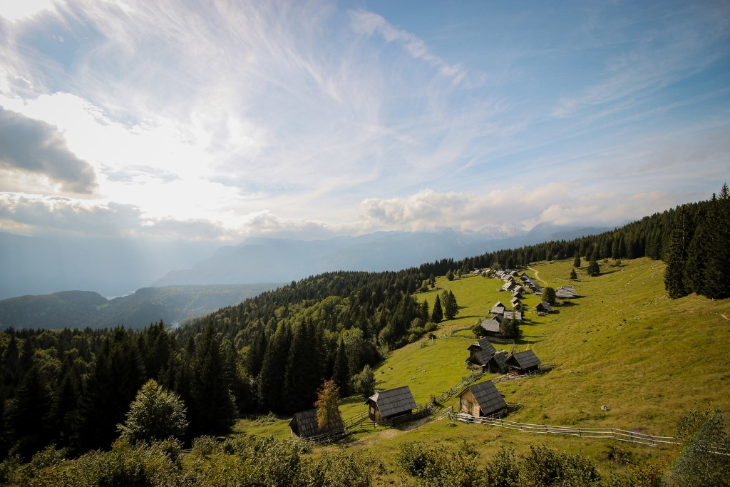 Mountain Zajamniki, part of the Triglav National Park
