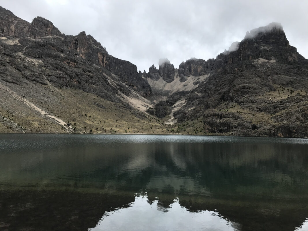Enchanted Lake in Mt Kenya