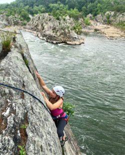 Rock Climbing in Great Falls, VA