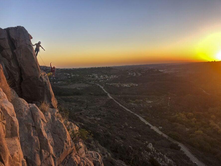 san diego rock climbing