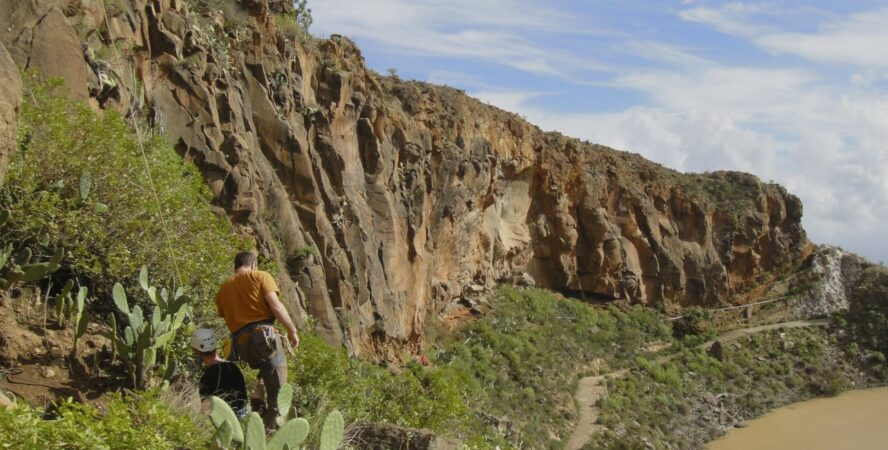 tenerife rock climbing