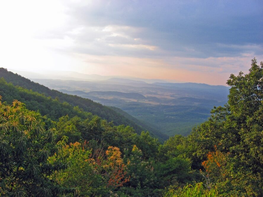 Many hikers consider Virginia to be their favorite state because of the easy terrain and the lovely scenery. By the time you cross into West Virginia you'll be over a third complete hiking the Appalachian Trail.