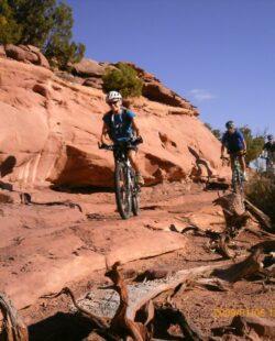 Mountain Biking in Amasa Back/Ahab