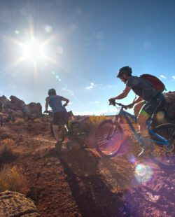 It's certain that riding Porcupine Rim in Moab will be an experience you won't soon forget.