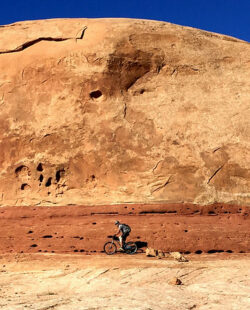 Mountain Biking in Navajo Rocks