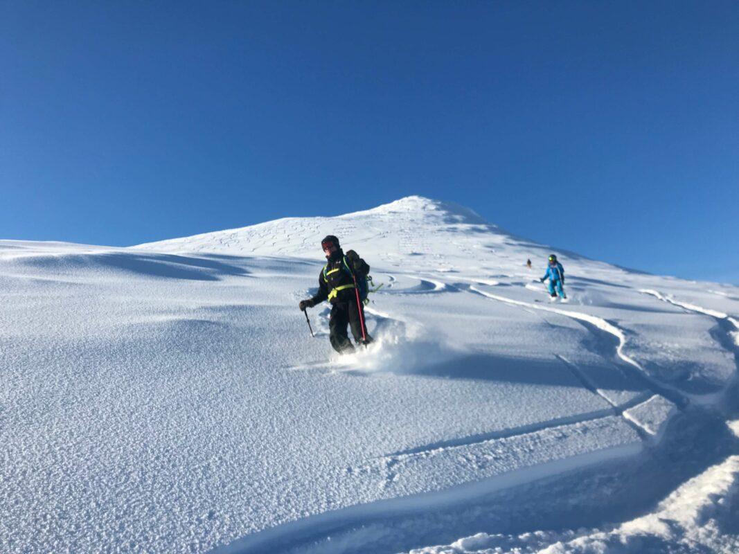 Powdery slopes of Lyngen Alps