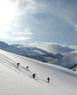 Ski and sail in Lyngen Alps